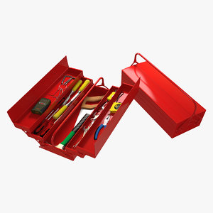 3d tools toolbox screwdriver