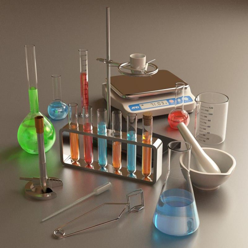3d chemistry set