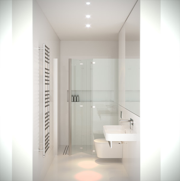 bathroom rhino corona 3d max