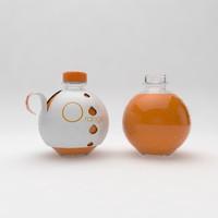 free design bottles 3d model