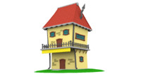 Cartoon House (1)