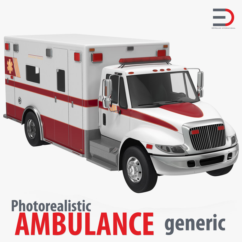 3ds max ambulance generic