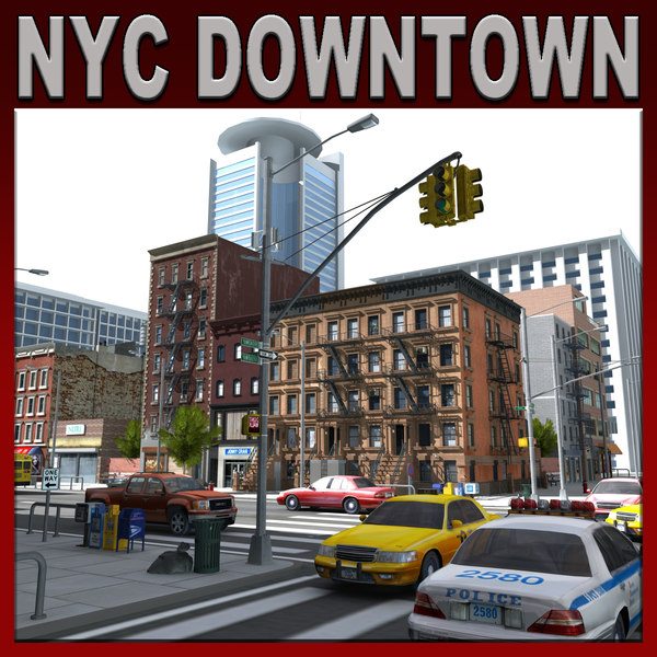2 nyc 3d 3ds