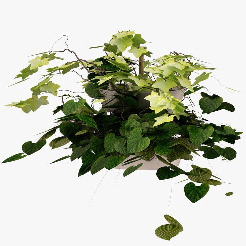3d model ikea bittergurka flower