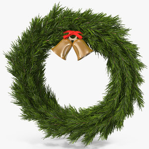3d christmas wreath 5