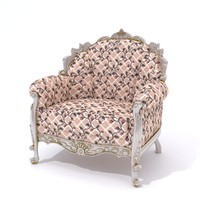 3d classical chair