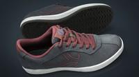3d model sneakers