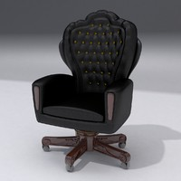 boss chair 3d max