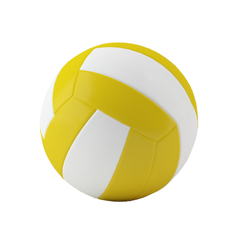 volleyball volley ball 3d max