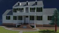 free max mode house facade