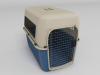 3d mobile pet carrier model