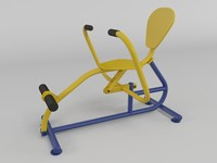 Outdoor fitness gym equipment