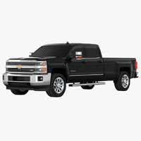 chevrolet silverado 3500hd pickup 3d 3ds