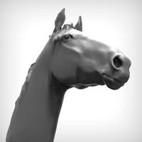 obj horse head