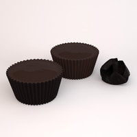 dark chocolate peanut butter 3d c4d