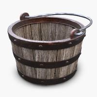 3d wooden medieval wood model