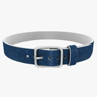 realistic belt 2 blue 3ds