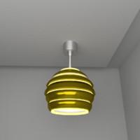hive lamp 3d model