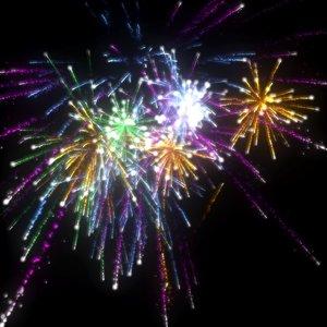 3d pflow fireworks