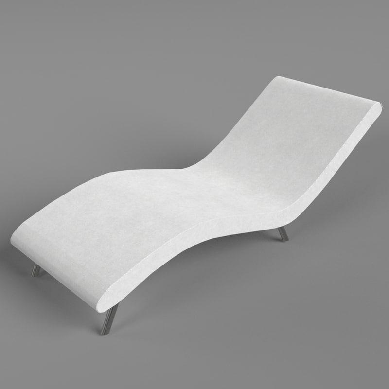 3d wave sofa