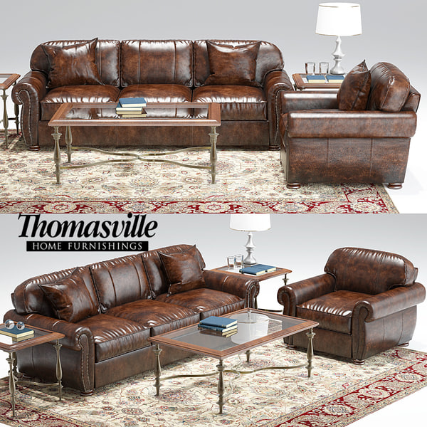 max thomasville benjamin sofa armchair