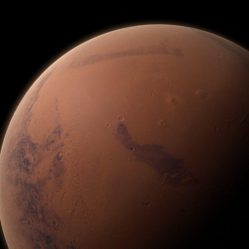 3d model mars atmospheric