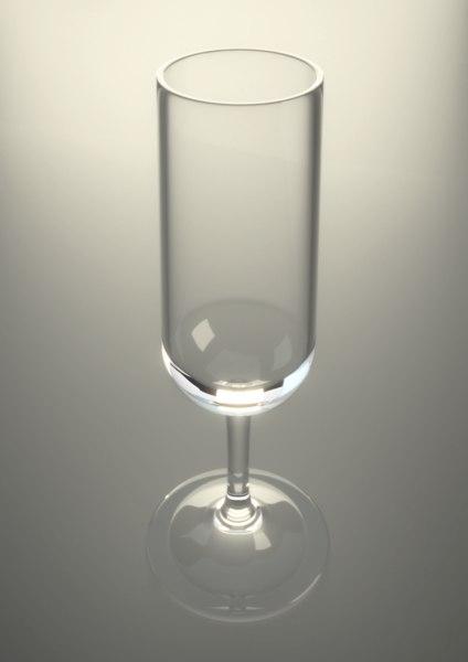 cordial glass obj