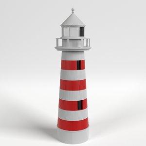 3d model lighthouse light house