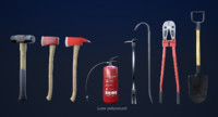 fighting equipment 1 pbr fbx