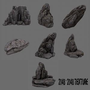 rock ready 3d model