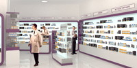 3d model pharmacy shop