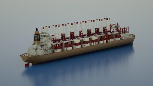 3d power ship