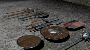 3d arena weapons