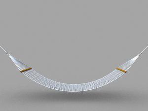 hammock 3d model