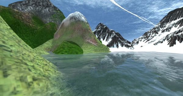 mountain realistic pack 3d model
