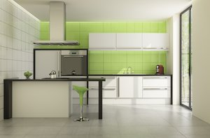 modern little kitchen 3d 3ds