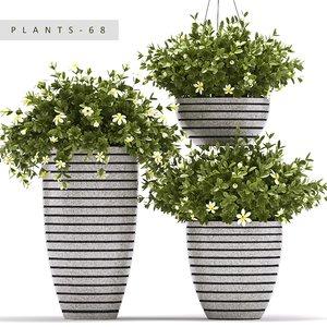 plants set 68 3d model