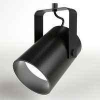 studio light spots 3d model