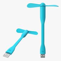 3d model xiaomi portable fan