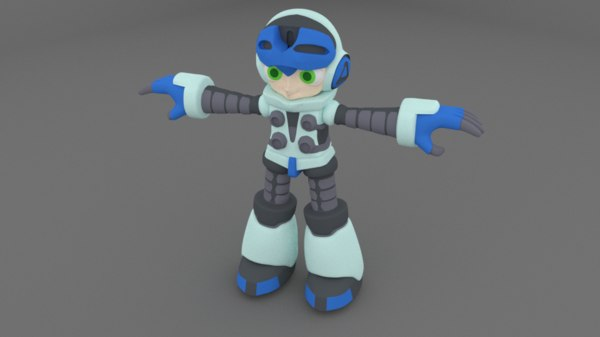 beck mighty 9 3d fbx