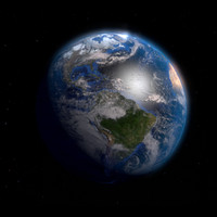 earth atmosphere 3d 3ds