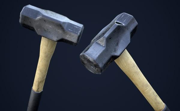 sledge hammer games 1 3d model