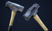 sledge hammer games 1 3d model