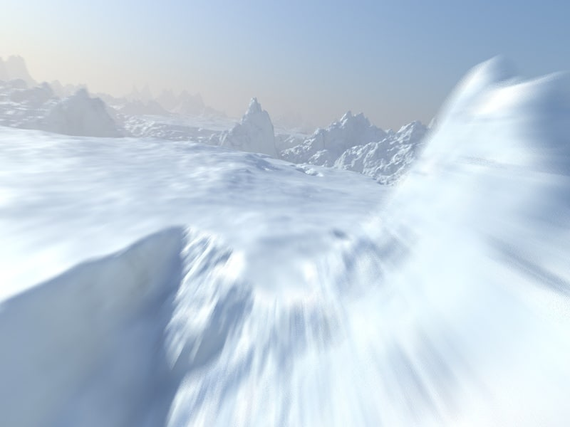 arctic snow terrain max