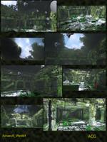 udk scene temple 3d 3ds