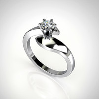 3ds engagement ring gemstone