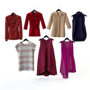 dresses clothing women s 3d max