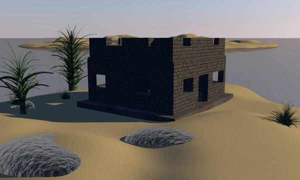 3d model island