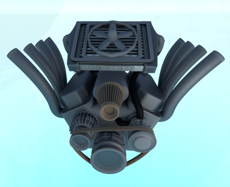 x simple v8 engine
