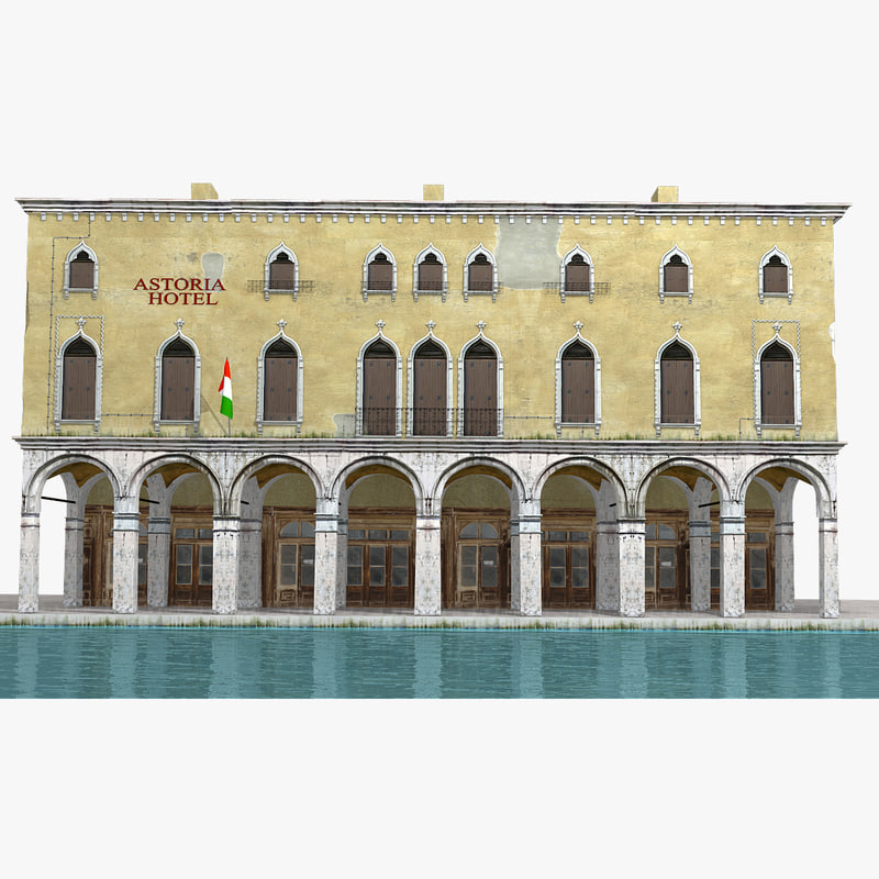 3d real-time venice hotel